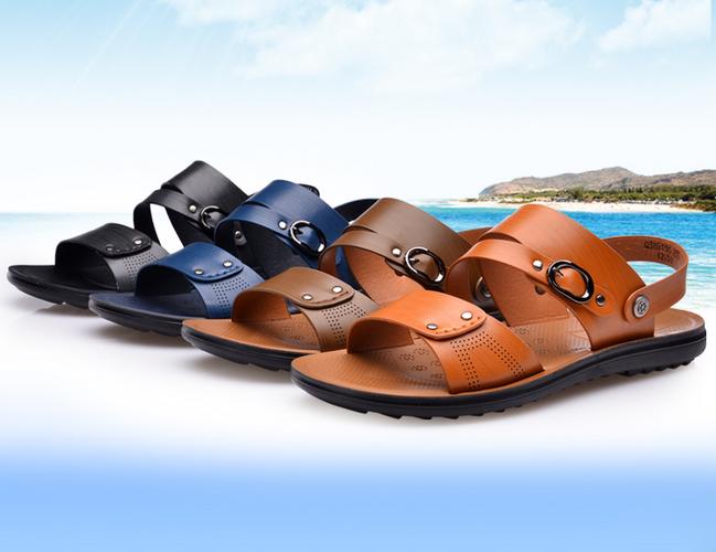 沙滩鞋革类
